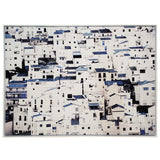 Blue Houses - Wall Art