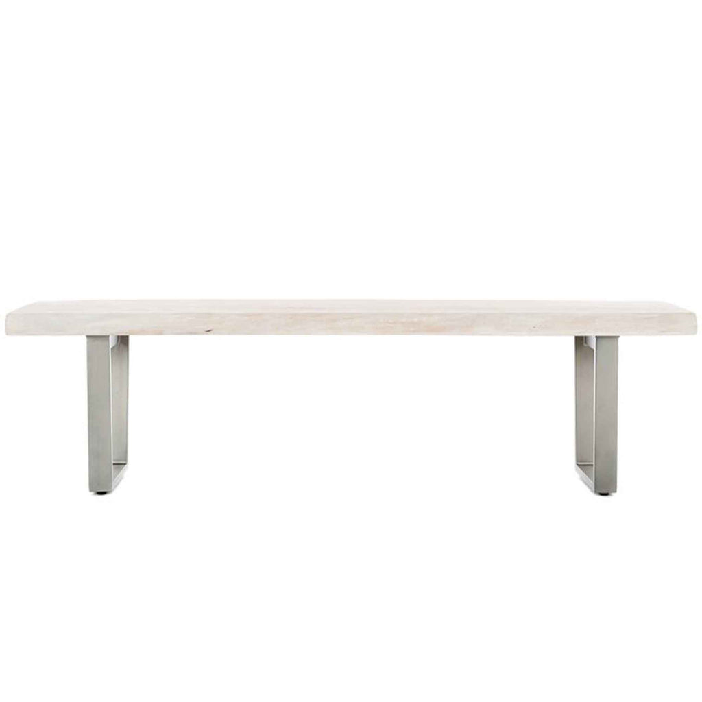Colony Bench -Whitewash