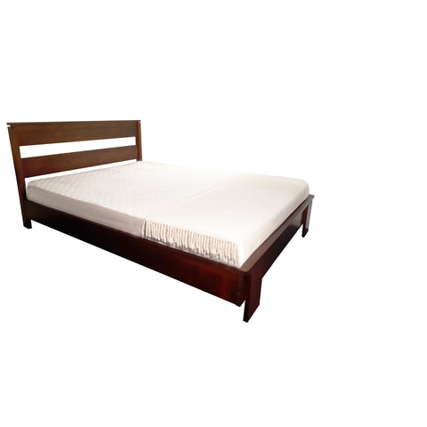 Tofino platform bed - shown in Maple with Coco Cherry stain