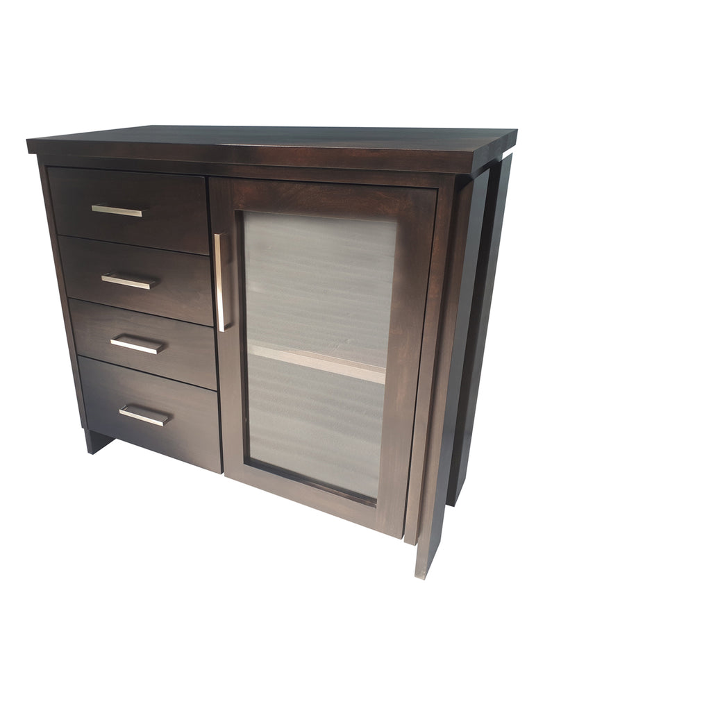 Tofino Compact Server - shown in Maple with Black stain