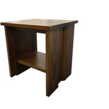 Vancouver End Table - Shown in Poplar with Victoria Stain