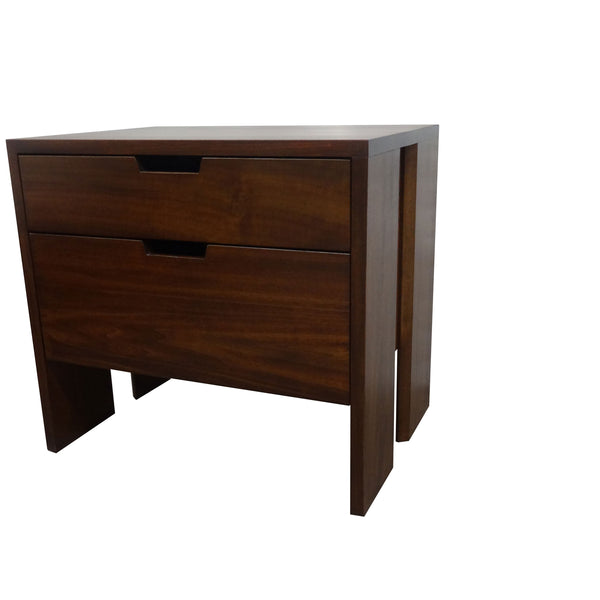 Vancouver nightstand - Shown in Poplar with Victoria stain