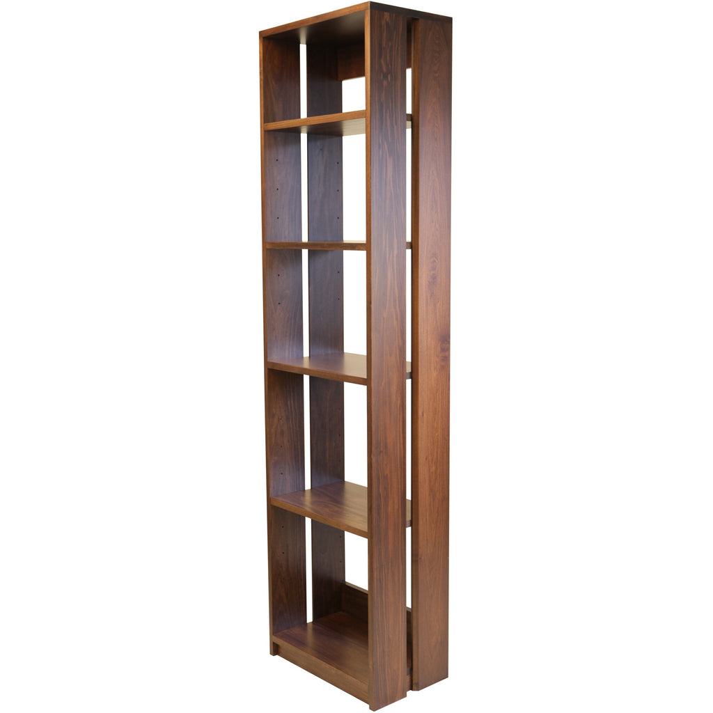 Straight Up Bookcase - Shown in Poplar with Victoria stain