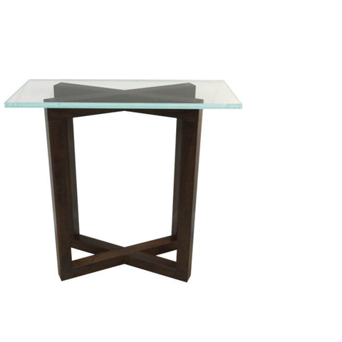 Tangent Pedestal Console Table
