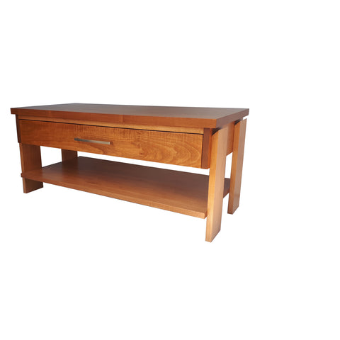 Tofino Coffee Table - shown in Maple with Salem stain