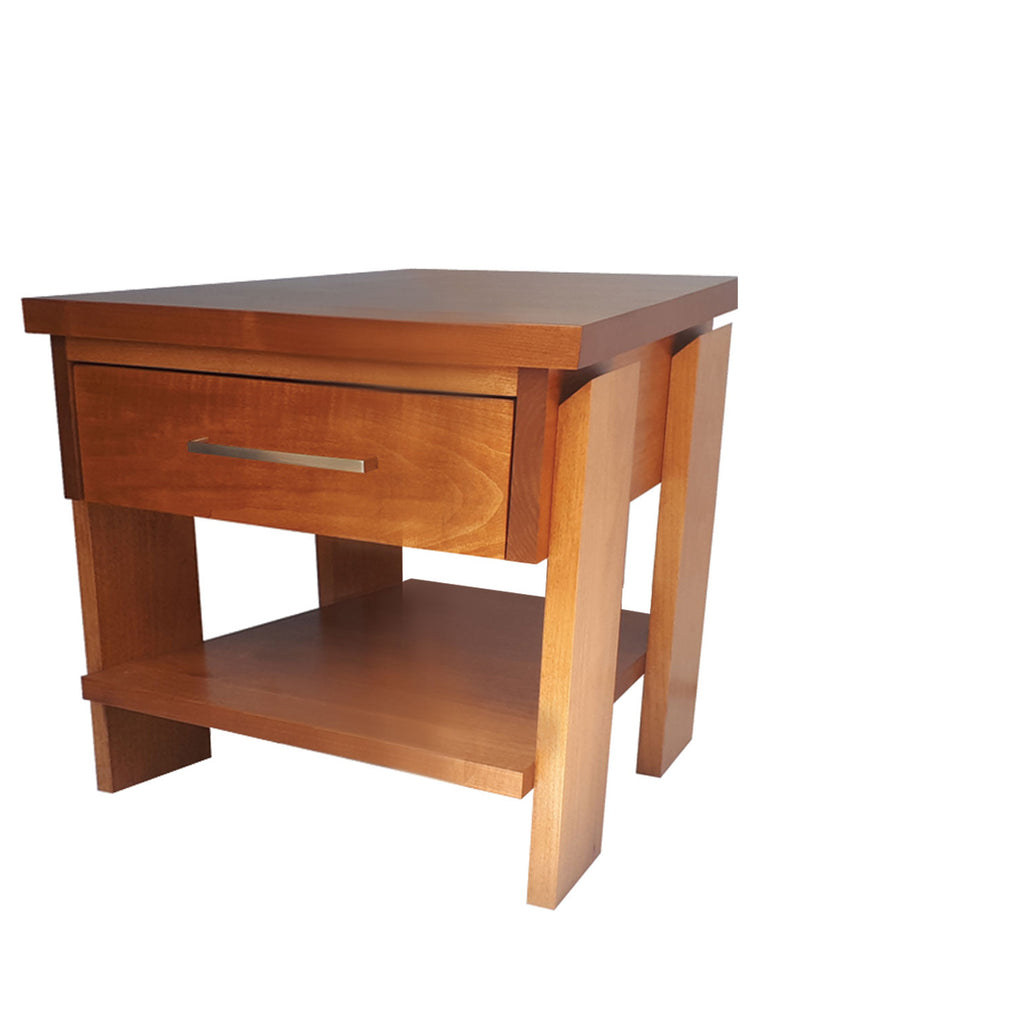 Tofino End Table - shown in Maple with Salem stain