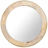 Toshi Wooden Mirror
