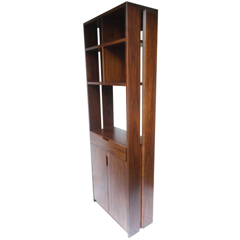 Queue Pantry - Shown in Poplar with Coco Cherry stain