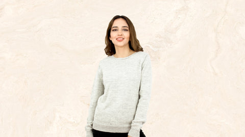 Alpaca wool jumpers and sweaters for ladies