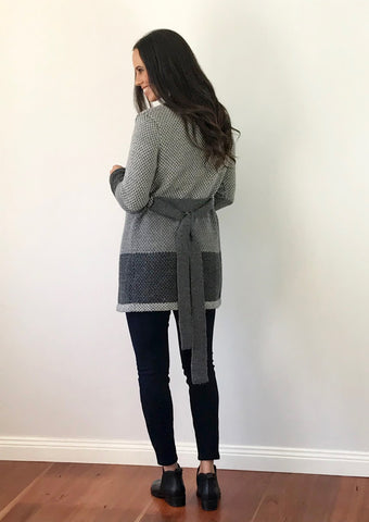 Alpaca cardigan by alpeí