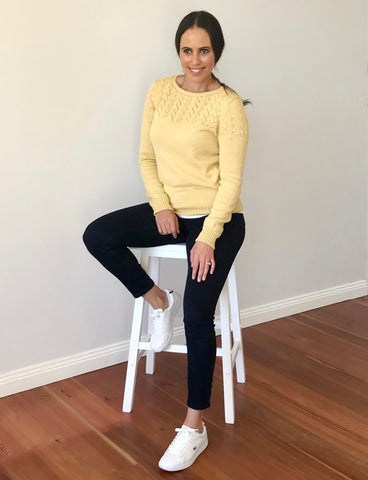 Alpaca wool jumper by alpeí