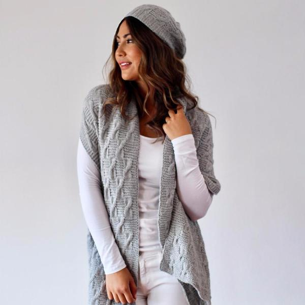 Alpaca Hat and Scarf Winter Set | Alpaca Wool | Organic Clothing