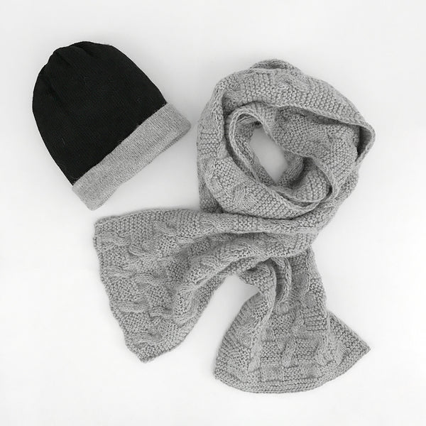Alpaca Scarf and Beanie Set | Alpaca Wool | Sustainable Clothing