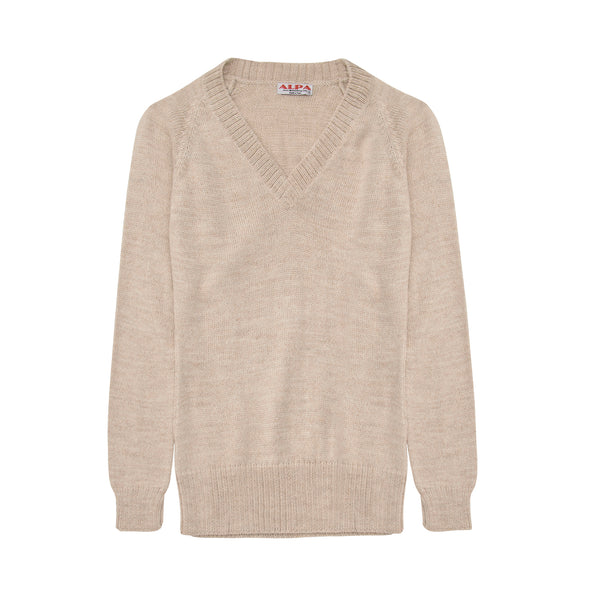 Alpaca Wool | V Neck Jumper | Jumpers for Women | Organic Clothing