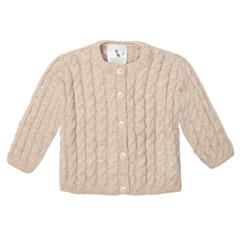 Alpaca Little Cable Cardie