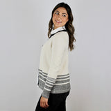 Alpaca Wool | Women's Cardigan | Organic Clothing - Side