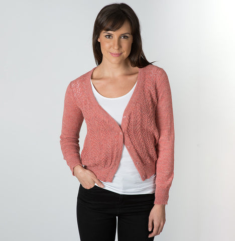 Alpaca Wool Sindy Lace Cardigan