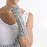 Wool Gloves | Alpaca Wool | Arm Warmers | Gift Ideas - detail