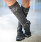 Alpaca Socks | Alpaca Wool | Handcrafted Organic Cotton