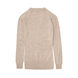 Alpaca Wool | V Neck Jumper | Jumpers for Women | Organic Clothing - Back