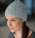 Alpaca Beanie | Alpaca Wool | Beanie for Women - Side