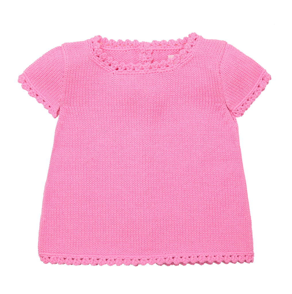 Cotton Top | Organic Baby Clothes | Crochet Clothes for Babies