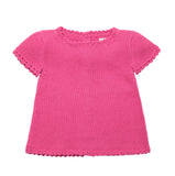 Cotton Top | Organic Baby Clothes | Crochet Clothes for Babies - Front