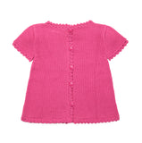 Cotton Top | Organic Baby Clothes | Crochet Clothes for Babies - Back