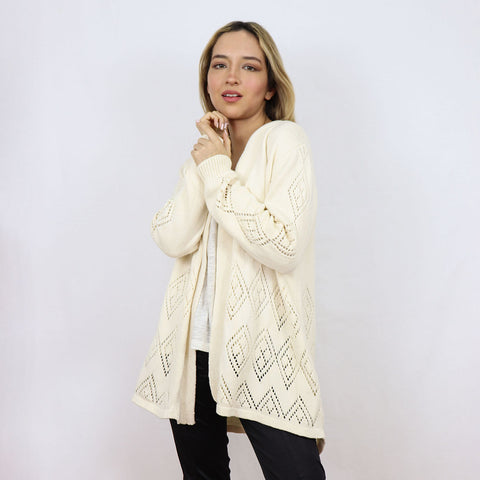 Natural Cotton Pimentel Cardigan