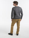 Men Cardigan | Alpaca Clothing | Organic Cotton - Back