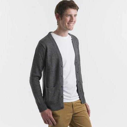 Men Cardigan | Alpaca Clothing | Organic Cotton