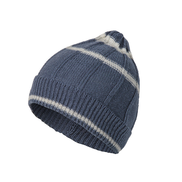Beanies for Men | Alpaca Wool | Rib Knit