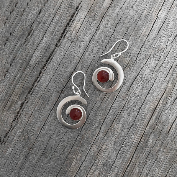 Sterling Silver Caral Earrings