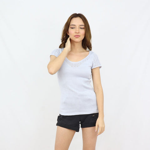 Sunday Pima Cotton Knitted Top