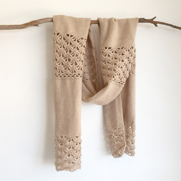 Alpaca wool scarves