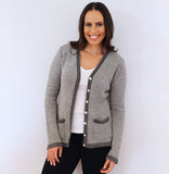 Alpaca Wool | Grey Cardigan | Cardigans for Women | Organic Clothing
