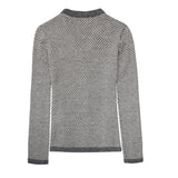 Alpaca Wool | Grey Cardigan | Cardigans for Women | Organic Clothing - Back