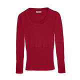 Alpaca Jumpers | Organic Cotton Clothing - Red