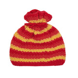 Alpaca Wool | Toddler Beanie Hat | Baby Beanies | Organic Clothing - Red/Yellow