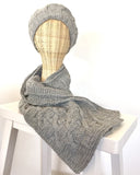 Alpaca Hat and Scarf Winter Set | Alpaca Wool | Organic Clothing - matching set