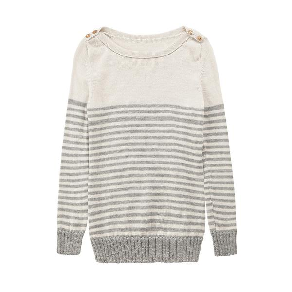 Alpaca Wool | Jumper with Stripes | Jumpers for Women | Organic Cotton