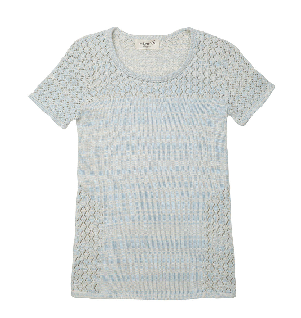 Organic Cotton | Summer Knit Top | Tops for Women | Organic Clothing