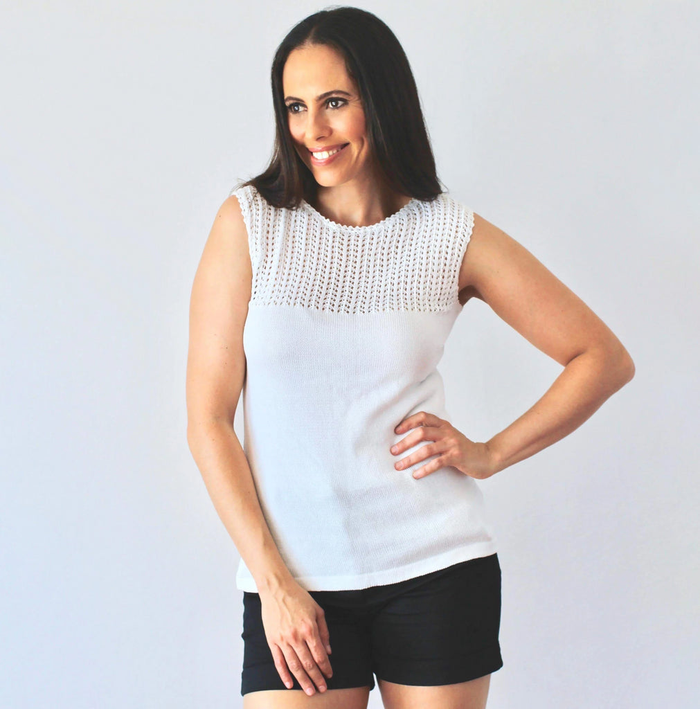 Organic Cotton | Tops for Women | Lace Tops | Organic Clothing