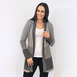 Alpaca Wool | Belt Cardigan | Cardigan for Women | Organic Clothing - Open