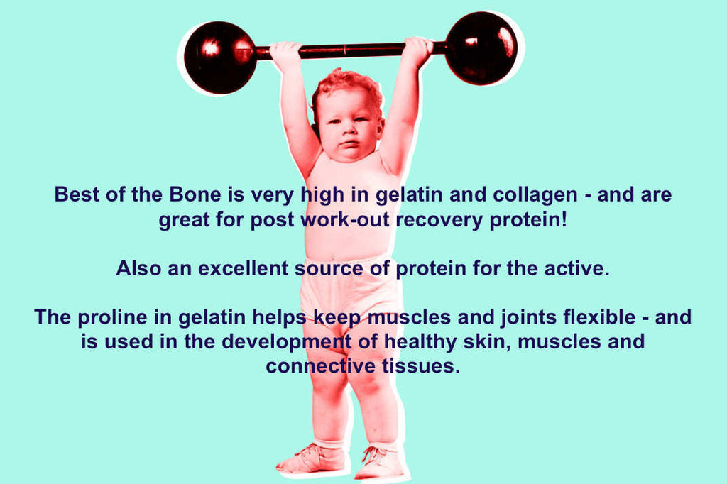 Best of the Bone is a concentrated form of gelatin and collagen