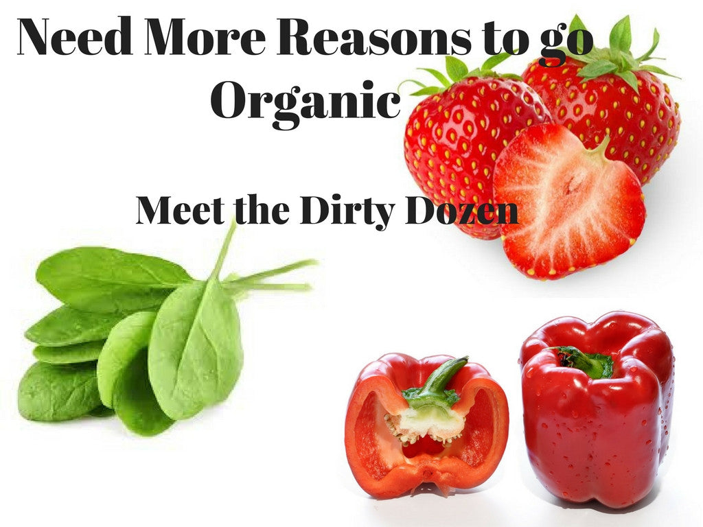 A Dozen More Reasons to Go Organic