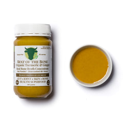 Best of the Bone organic turmeric-ginger-black pepper bone broth