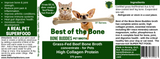 Best of the Bone BONE BUDDIES broth for Pets (natural marrow flavour)
