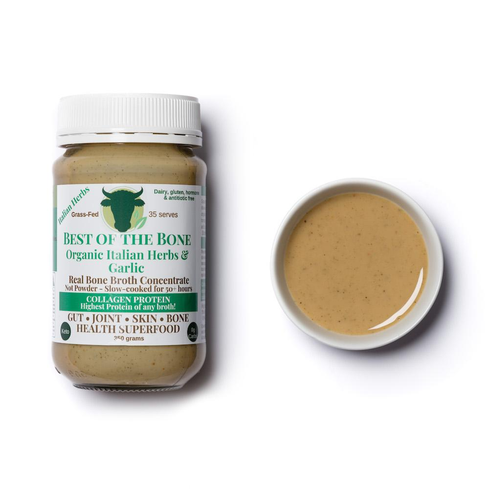 Best of the Bone organic Italian Herbs & Garlic