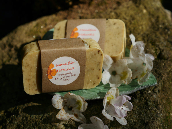 Goat Milk Soap Bar (Multiple Scent Options)